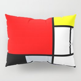 Mondrian Pillow Sham