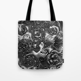 zebra stripes and trinkets Tote Bag