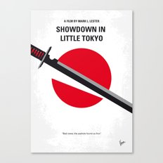 No522 My Showdown in Little Tokyo minimal movie Canvas Print