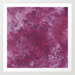 Colour Blotch Art Print