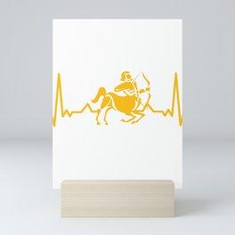 Zodiac Sign - Saggitarius Mini Art Print