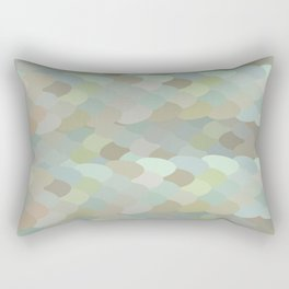 Dragon leaf scales Rectangular Pillow