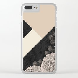 Flowers in sunlight Clear iPhone Case