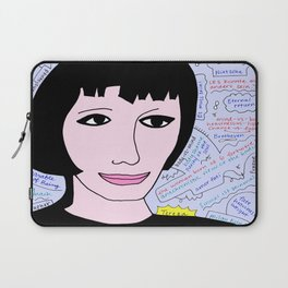 "Tereza from ""The Unbearable Lightness of Being"" Laptop Sleeve"