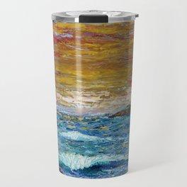 """Somewhere Sunset"" Travel Mug"