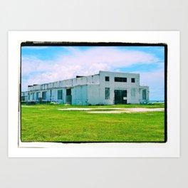 Empty Building Art Print