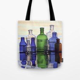 Beach Bottles Tote Bag