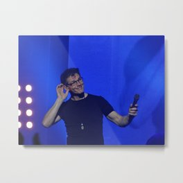 Morten Harket of A-HA Metal Print