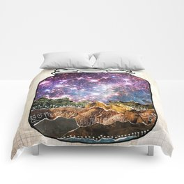 Love Can Move Mountains Comforters