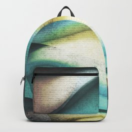 Abstract Surrealism Texture 16 Backpack