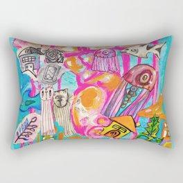 Emotion Ocean 1 Rectangular Pillow