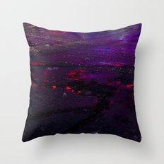 Spilled Lights Throw Pillow