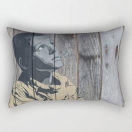 Boy Graffiti art Rectangular Pillow