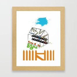 Greenhouse Framed Art Print