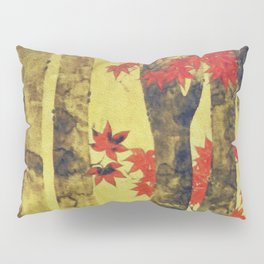 Anata In Red and Gold Pillow Sham