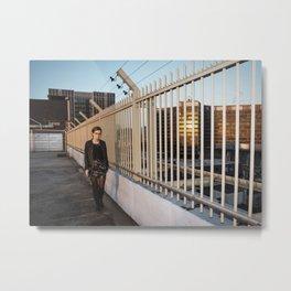Rooftop Parking Metal Print
