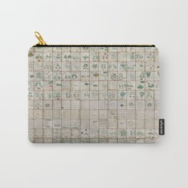 The Complete Voynich Manuscript - Natural Carry-All Pouch
