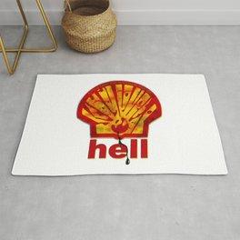 Hell Oil Rug