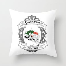 unknown Species Throw Pillow