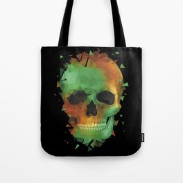 Geometry Reconstruction Skull Tote Bag