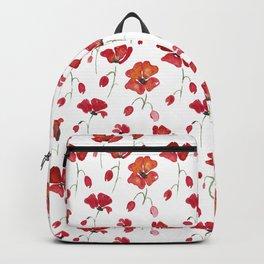 Swedish Poppies Backpack