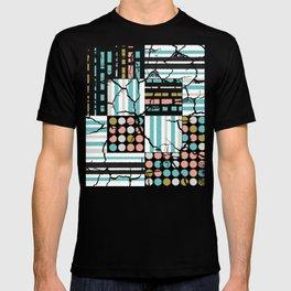Distressed pattern T-shirt