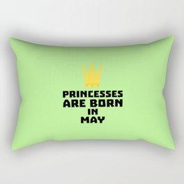 Princesses are born in MAY T-Shirt Dc18v Rectangular Pillow