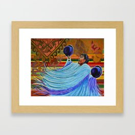 Colorida Latinoamércia Framed Art Print
