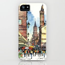 Rue du Taur, Toulouse iPhone Case