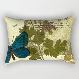 Columbine Love Letters Rectangular Pillow