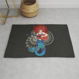 Musical Mermaid Rug