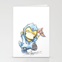projectrocket Stationery Cards featuring Psy of Relief by Randy C