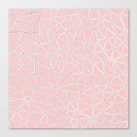 Seg African Blush Canvas Print