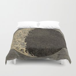 Five Day Moon Duvet Cover