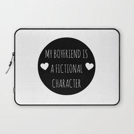 My Boyfriend Is A Fictional Character (Black) Laptop Sleeve