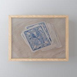 carte de la famille Framed Mini Art Print