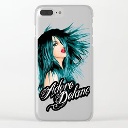 Adore Delano, RuPaul's Drag Race Queen Clear iPhone Case