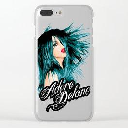 Adore Delano, RuPaul's Drag Race Queen Clear iPhone Case