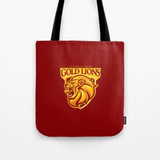 Casterly Rock Gold Lions Tote Bag