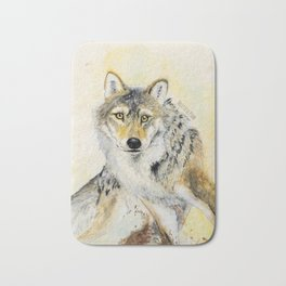 Totem Wolf: Gray wolf (c) 2017 Bath Mat