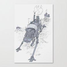 an even longer time ago Canvas Print