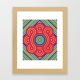 Cosmic Vibrations Within Framed Art Print