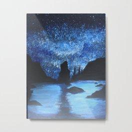 Starry Seas Metal Print