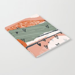 Paper Hearts Notebook