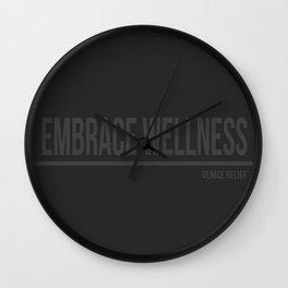 Embrace Wellness Wall Clock