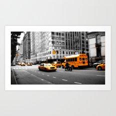 New York Streets Art Print