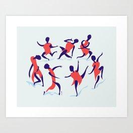 alors on danse Art Print