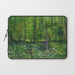 Vincent Van Gogh Trees & Underwood Laptop Sleeve