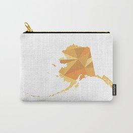 Alaska Pattern Map Art Carry-All Pouch