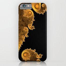 Pumpkin Swirls - Fractal Art iPhone Case